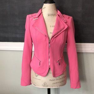 White House Black Market Pink Blazer Jacket 2